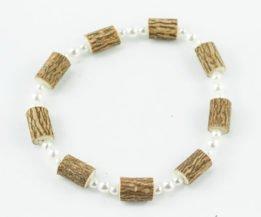 Bracelet Cheville Femmes Noisetier - 3 perles