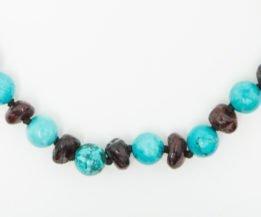 AMBER & GEMSTONES necklaces for children